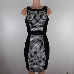 White House Black Market Size 4 Black A Line Dress